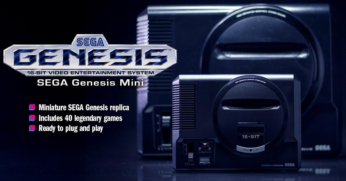 SEGA Genesis Mini | Official Website