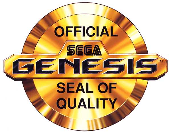 Offical SEGA Genesis Seal of Quality